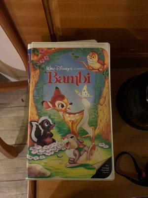 Walt Disney classic Bambi vhs movie for Sale in Essex Fells, NJ