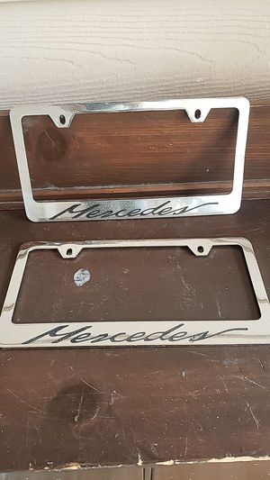 License plate frame for Sale in Everett, WA