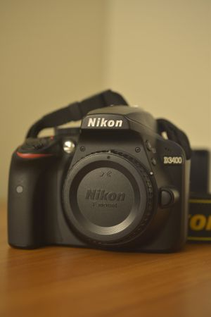 Nikon D3400 Camera Bundle for Sale in Los Angeles, CA