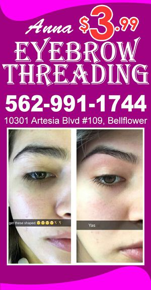 Anna Eyebrow threading : full face special :) for Sale in Bellflower, CA