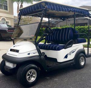 Blue precedent golf cart club car for Sale in Tampa, FL