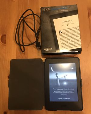 "Kindle Paperwhite E-reader (Generation - 7th) - Black, 6"" High-Resolution Display (300 ppi) for Sale in San Antonio, TX"