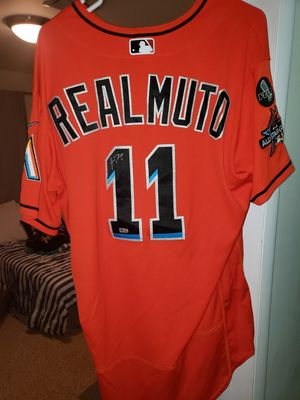 Miami Marlins JT Realmuto autographed jersey. for Sale in Miami, FL