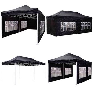 Heavy Duty Big 10x20ft Pop Up Tent BLACK / WHITE Available for Sale in Chino, CA