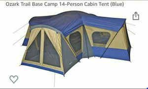 Family cabin tent 14 person for Sale in Dallas, TX