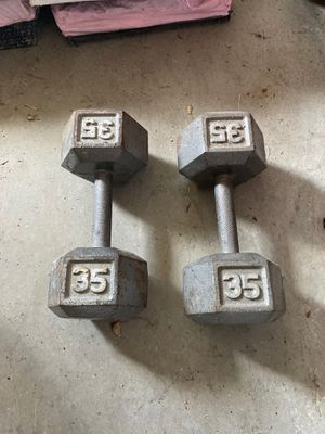 35# dumbbells for Sale in Cape Coral, FL