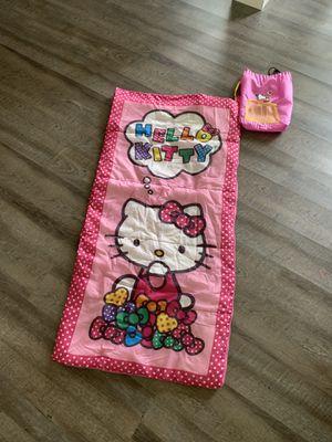 Hello Kitty Sleeping Bag & Drawstring Bag for Sale in Fresno, CA