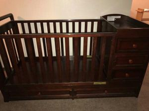 Wood Crib for Sale in Los Angeles, CA