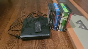 Newish DVD player and 7 DVDs and 2 Box Sets for Sale in Atlanta, GA