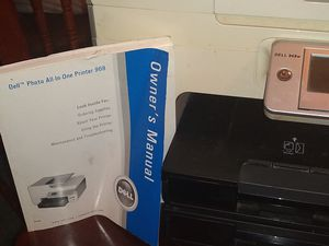 Dell Photo All In One Printer 968,with Computer (remote), wireless keyboard for Sale in Baltimore, MD