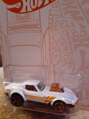 VINTAGE STYLE 1968 CORVETTE WHITE AND RED CARD HOTWHEEL for Sale in San Diego, CA