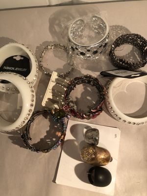 Bracelets and Rings all new for Sale in Tinicum Township, PA