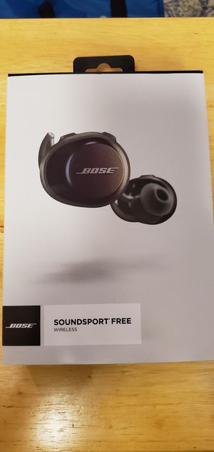 BOSE SOUNDSPORTS FREE for Sale in HOFFMAN EST, IL