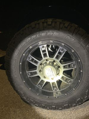 XD Rims and tires 35x11.50 R20 full set for Sale in Watertown, MA