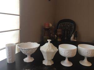 Milk glass for Sale in Evansville, IN