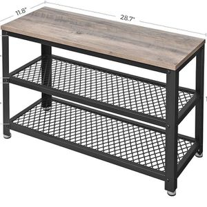 Used Chic Outside Bench w/Racks $10 for Sale in Orange, CA