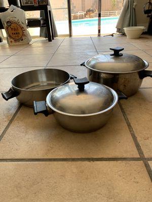 Vintage renaware 3 pots for Sale in Santa Ana, CA