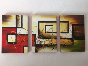 Three panel painting for Sale in Orlando, FL