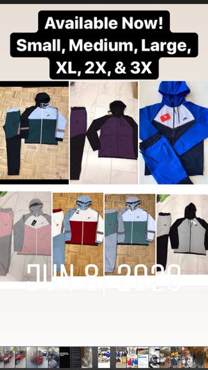 Brand new authentic Nike jogging suits for sale for Sale in Reynoldsburg, OH