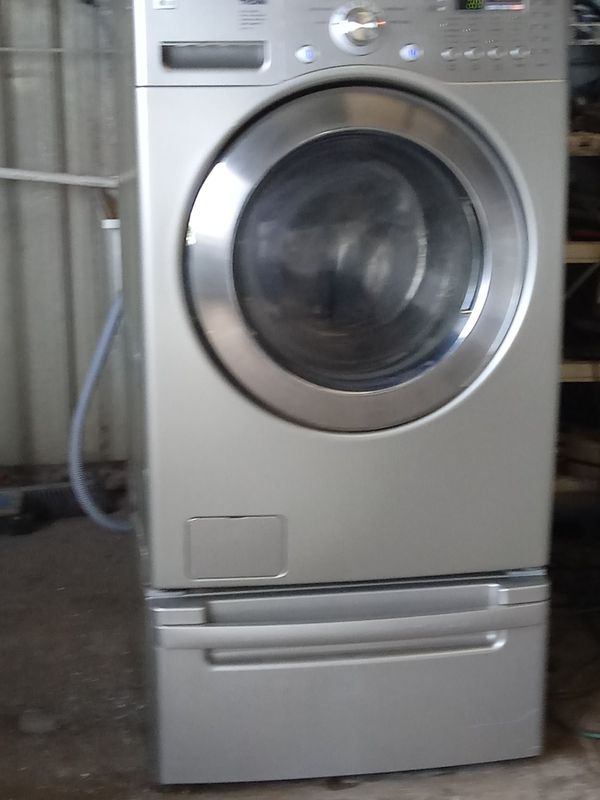 LG front loader washer with warranty