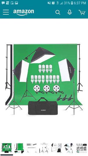Photography Studio Lighting Kit for Sale in Bakersfield, CA