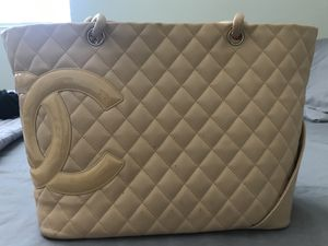 Tan Leather Chanel Purse for Sale in San Diego, CA