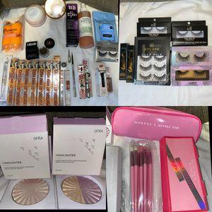 Brands: Benefit, Jeffrey Star , Anastasia , Fenty Beauty , Ofra , ect.. for Sale in Los Angeles, CA