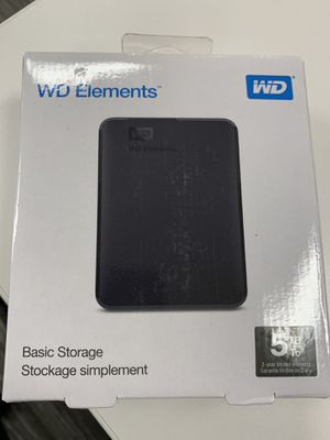 Brand New Sealed 5TB WD External Drive for Sale in Pacifica, CA