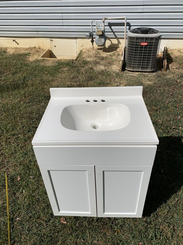 Bathroom cabinet with sink NEW!!!