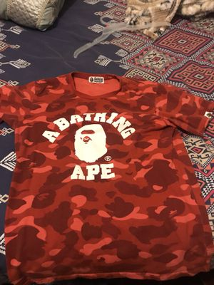 Bape 100% authentic size medium for Sale in Brooklyn, NY