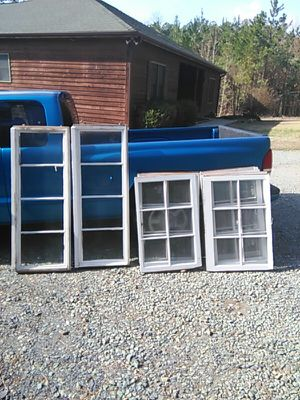 Antique Wood Pane Glass Windows for Sale in Sanford, NC