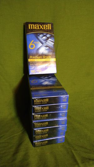 Maxwell T-120 /246m VHS 8 pc for Sale in St. Louis, MO