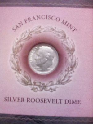 Silver Roosevelt dime for Sale in Covina, CA