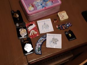 Disney pins and lunch box brand new for Sale in Gig Harbor, WA