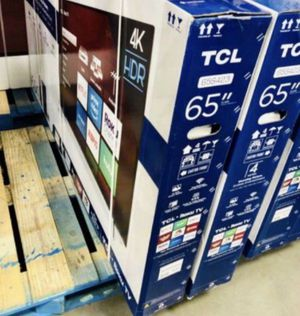 "65"" TCL ROKU TV 4K SMART TV for Sale in Grand Terrace, CA"