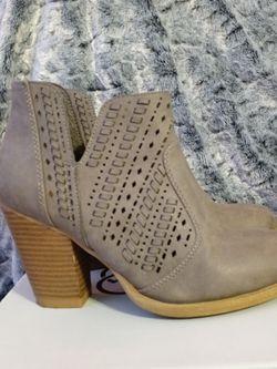 Daisy Fuentes Beige Cutout Design Low Cut Boots for Sale in Umatilla,  FL