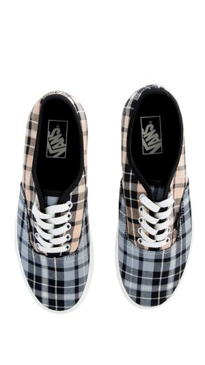 Vans Authentic in Plaid MIX. Mid Low Sneakers in Mens Size 11.5 NWT in Their Box. for Sale in El Monte, CA