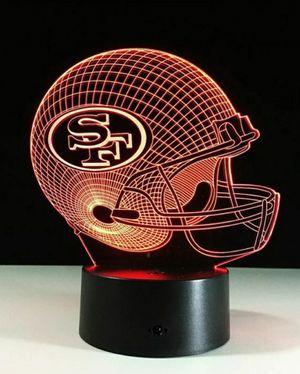 San Francisco 49ers NFL Night Light Lamp for Sale in Berlin, NJ