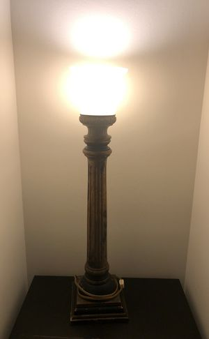Sconce lamp approx 3.5' candle lantern grecian tabletop for Sale in Orlando, FL