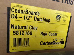 Vinyl insulated Siding (1 box) for Sale in Lake Hiawatha, NJ