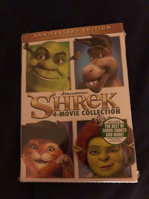 Shrek 4 movie collection for Sale in Schaumburg, IL