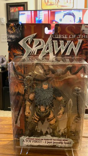 Mcfarlane toys Curse of the Spawn ZEUS action figure for Sale in Fife, WA
