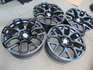 Brand New 18X8.5 Coventry ASHFORD Gunmetal/Black Rims *5X108* *JAGUAR* for Sale in Aurora, CO