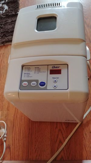 Oster 5815 Automatic Bread Maker for Sale in Commerce Charter Township, MI