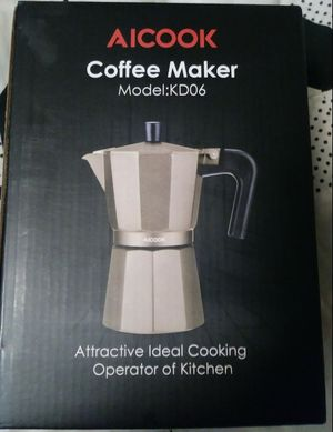 Brand New in Box Aicook Stovetop Expresso, Cappuccino, Tea, & Coffee Maker for Sale in Norman, OK