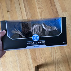 (NEW) McFarlane Toys DC Multiverse Death Metal Batcycle *In hand* for Sale in Paramus, NJ