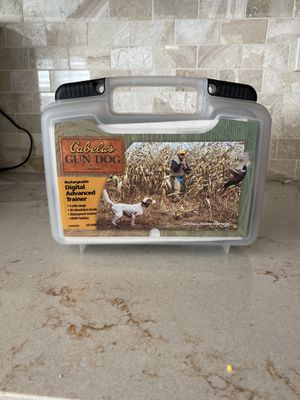 Cabelas gun dog training e collar for Sale in West Chicago, IL
