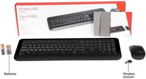Microsoft Wireless 800 desktop keyboard and mouse for Sale in Coral Gables, FL