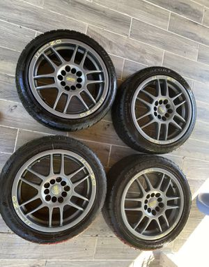 "OZ racing wheels with tires 16"" for Sale in Ashburn, VA"