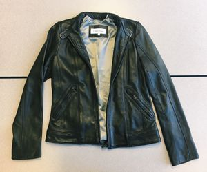 Women's Calvin Klein Leather Jacket (Small) for Sale in Pittsburgh, PA